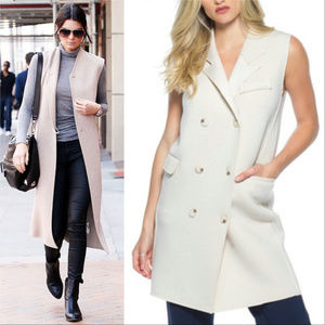 Jackets & Blazers - 💋LAST 1 ea size💋OH SO CHIC VEST DUSTER